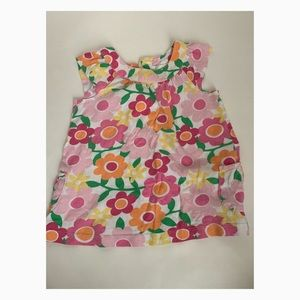 Used Carter's Girls Flower Dress - 18 months